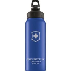 Sigg WMB Touch Alutrinkflasche 1l swiss blue